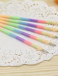 Ручка Сменные блоки,Пластик Красный / Желтый / Лиловый / Оранжевый / Зеленый