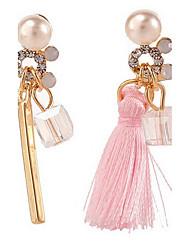 Boucles d'oreille goutte Perle Alliage Sexy Bikini Mode Bijoux Rose Bijoux Mariage Soirée Quotidien Décontracté 1 paire