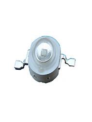 1w alta potencia de luz LED azul granos de la lámpara, 38mil (juego de 8)