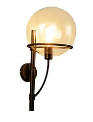 vintage Industry Glass Wall Sconces Living Room Dining Room,Kitchen Cafe Bars Bar Table