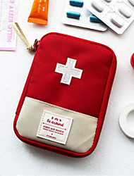 Travel Essential Portable First Aid Kit Portable Medicine Small Storage Bag Zero Wallet Medicine Bag