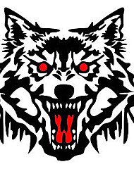 The Wolf's Head Car Stickers, Personality Car Stickers