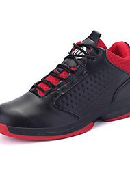 Femme-Décontracté / Sport-Noir / Rouge / Blanc-Talon Plat-Ballerines-Chaussures d'Athlétisme-Polyuréthane