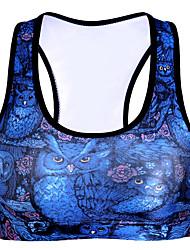 Femme Soutien-Gorges de Sport Séchage rapide Respirable Compression Anti-transpiration Soutien-Gorges de Sport Vêtements de