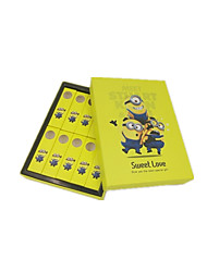 Small Yellow Man Lollipop Packaging Box