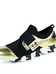 Da uomo-Sneakers-Tempo libero / Casual / Sportivo-Ballerine-Piatto-Finta pelle-Carne / Nero e oro / Nero e rosso / Nero e bianco