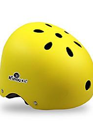 Спортивные-Универсальные-Велосипедный спорт / Роликобежный спорт-шлем(Желтый / Белый / Розовый / Чёрный / Оранжевый,Пенополистирол /