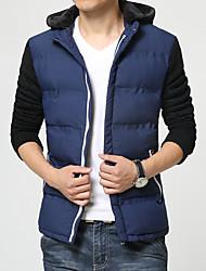 Young men's casual jacket thick warm new Korean winter coat jacket slim tide