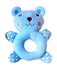 Cat Toy Dog Toy Pet Toys Squeaking Toy Squeak / Squeaking Green Blue Plush