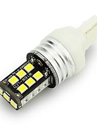 2PCS  T20/1156  2835 15SMD Car LED Canbus Light Error Free Double Polars Brake Light Lamp DC 12V Reverse Lights
