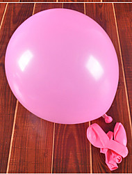 Rubber Wedding Decorations-100Piece/Set Balloon Wedding / Birthday Rustic Theme Red / Pink / Purple