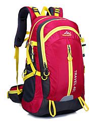 36-55 L Tourenrucksäcke/Rucksack Camping & Wandern / Klettern Draußen Wasserdicht / tragbar Rot / Blau Oxford Other