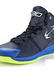 Черный / Белый-Унисекс-Для занятий спортом-Материал на заказ клиента-На плоской подошве-Удобная обувь-Спортивная обувь