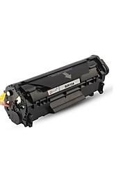 fácil de adicionar cartuchos de pó 12a aplica páginas cartuchos de toner HP Q2612A hp hp1010 M1005 impressos 2000