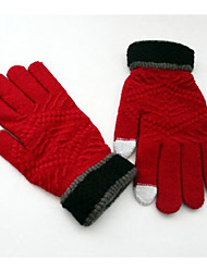 New Men'S Outdoor Motorcycle Gloves Touch Screen Riding Gloves Winter Warm Gloves