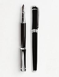 Penna Stilografiche,Metallo Nero