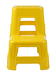 Two Step Ladder Car Wash Stool Tool Thickened Industrial Plastics