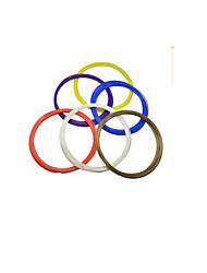fournitures 3d stylo d'impression (modèle: pla (10 m), la couleur de la brosse: couleur vive aléatoire, un ensemble de 20 volumes, couleur