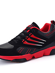 Men's Fashion Sneakers Casual/Travel/Outdoor Microfiber Tulle Sport Running Walking Shoes