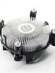 поставки Intel оригинальный вентилятор процессора, 1150, 1155 четыре провода контроля температуры компьютера радиатор