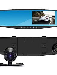 4,3-дюймовый двойной записи вождения рекордер зеркало навигации двойной объектив HD
