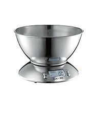 échelle en acier inoxydable électronique mini-cuisine (poids maximum: 5 kg)
