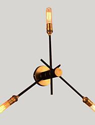 LED Eclairage avec Bras oscillant,Rustique/Campagnard Métal