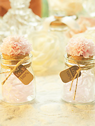 1 Piece/Set Favor Holder-Cylinder Glass Candy Jars and Bottles Non-personalised
