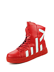 Men's Fashion Shoes Casual/Travel/Outdoor Fashion Microfiber Leather Walking Medium cut Youth Boots