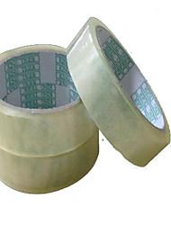 1.8cm de large bande incognito invisibles papeterie ruban d'emballage de bande plastique d'étanchéité des centres commerciaux un paquet de