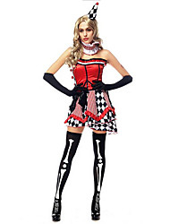 Women's Circus Clown Halloween Costume