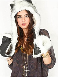 Autumn and winter to keep warm hat fashion imitation fur animals