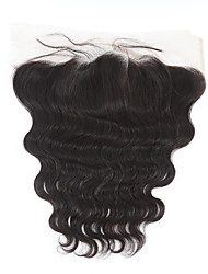 13*4inch Ear to Ear Lace Frontal Closure Body Wave Lace Frontal Natural Color Lace Closures