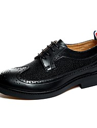 Men's Oxfords/Fashion Dress/Hot Sales/Leather/Lichee Pattern/High-grade/Bullock/Personality
