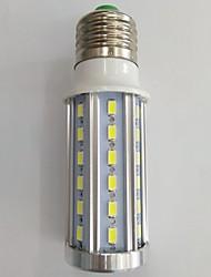 10 E14 / E26/E27 LED лампы типа Корн T 42 SMD 5730 630LM lm Тёплый белый / Холодный белый Декоративная AC 85-265 V 1 шт.