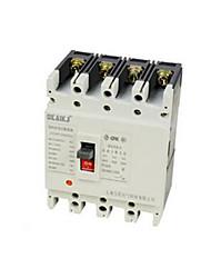 protección de la salida del interruptor disyuntor (modelo: zhgm1-100 / 4300 100 A, tensión nominal de funcionamiento: 400v)