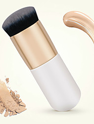 Overweight Young Makeup Powder Brush