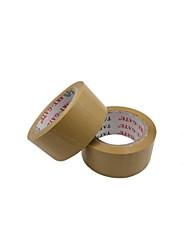 amarilla cinta de embalaje transparente (4,8 * 1,6 cm, dos rollos de venta)