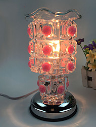 1PC Plugged Into Electricity  Roses Sweet  Essence Oil Lamp  Aing Kind Of Decorated Gift Desk Lamp Touch-Sensitive