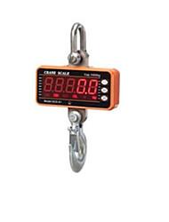 цифровой дисплей электронный крюк шкала (диапазон взвешивания: 100кг-1000кг, оранжевый)