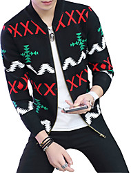 2016 men fall thin sweater cardigan sweater Mens sweater slim Korean casual jacket tide