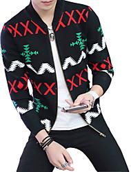2016 men fall thin sweater cardigan sweater Mens sweater slim Korean casual jacket tide