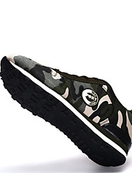 Dames Platte schoenen Lente / Herfst Comfortabel / Platte schoenen Weefsel Informeel Platte hak Veters / Overige Groen Others