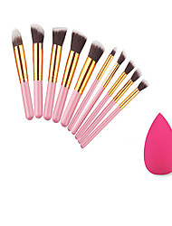 10 Contour Brush / Makeup Brushes Set / Blush Brush / Eyeshadow Brush