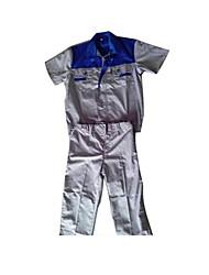 manches courtes costume outillage atelier des vêtements de protection de l'usine d'été vêtements de travail d'été à manches courtes