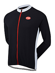 Sports® Cycling Jersey Men's Long Sleeve Breathable / Thermal / Warm / Windproof / Wearable / Ultra Light Fabric Bike TopsTerylene /