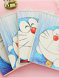 Korea Stationery Cartoon Chinchilla A4 Notepad Sketch Sketchbook Sketchbook
