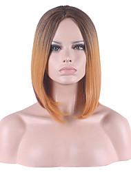 In the Partial Distribution Type Short Bobo Straight Hair Synthetic Wig