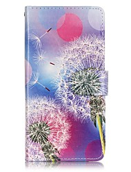 EFORCASE® Painted Dandelion PU Phone Case for Huawei honor 8