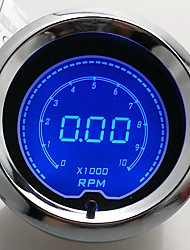 "2"" (52mm) LCD Digital 7 Color Display Tachometer RPM Gauge /AUTO GAUGE"